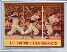 1962 Topps Card Mickey Mantle HOF Connects New York Yankees EX MT # 318