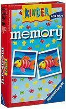 Ravensburger juego de conocimiento infantil mesa dados cartas 23103 Memory