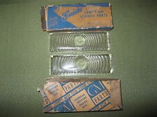 NOS 1947-1953 Chevrolet and GMC Truck parking Lens set, Guide
