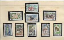 Mauritania Fauna Valores Diversos del año 1960-67 (EY-917)