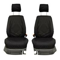 VW Caddy 2K Front Set INKA Tailored Waterproof Seat Covers Black MY 2015 onwards