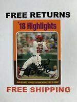 2019 Topps Archives Highlights Card #314 Jaun Soto Washington Nationals MLB