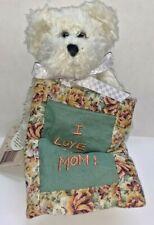 "Boyds Bear Carrie N. Lotsalove ""I Love My Mom!"" #82518 6"" New with Tags"