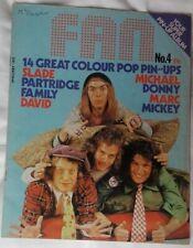 FAN Magazine #4Marc Bolan T.Rex, Slade, David Cassidy, Michael Jackson, Osmonds