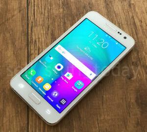 "Samsung Galaxy A3 (SM-A300FU), Pearl White, 16GB, 4.5"" AMOLED, VGC (44NA)"