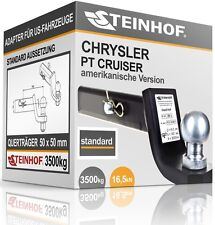 CHRYSLER PT CRUISER Anhängerkupplung ADAPTER für US-FAHRZEUGE 50x50mm STANDARD