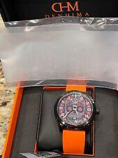 Denhima Ghost Rider Automatic watch DLC steel case