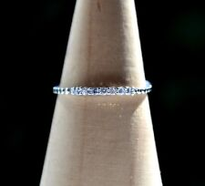 Sterling Silver 925 Eternity Not Adjustable Ring Size R