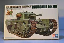 TAMIYA 1/35 BRITISH INFANTRY TANK Mk.IV CHURCHILL Mk.VII