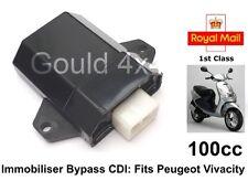 CDI immobiliser Bypass encaja Peugeot vivacidad 100cc aci100 aci100.01 aci100.02