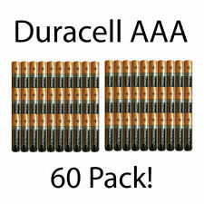 Duracell AAA Alkaline batteries 60-Pack