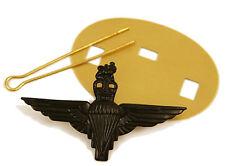 Parachute Regiment (Para) BLACK Beret Cap Badge  British Army - Brass Base Metal