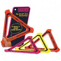 Aerobie 360200 Orbiter Boomerang That Really Comes Back Assorted Colours - New
