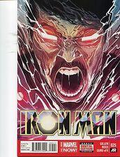 IRON MAN #25 - MICHAEL DEL MUNDO COVER ART - MARVEL NOW! - 2014