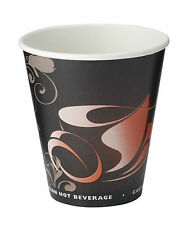 25 x Insulated Triple Wall Paper 8oz Tea Coffee Hot Drinks Cups [5060026844151]