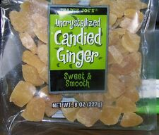 4 BAGS of TRADER JOE'S UNCRYSTALLIZED CANDIED GINGER