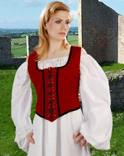 Renaissance Medieval Reversible Wench Bodice (Decorated)