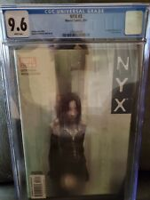 NYX #3 CGC 9.6 White Pages 1st appearance of X-23