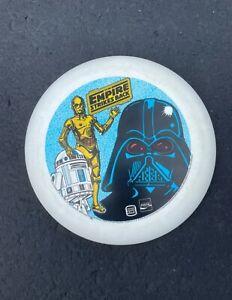 1981 Star Wars Vintage Frisbee The Empire Strikes Back Coca-Cola Burger King