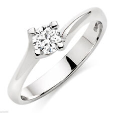 Beaverbrooks Engagement Round Fine Diamond Rings