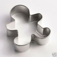 GINGERBREAD MAN STAINLESS STEEL COOKIE CUTTER