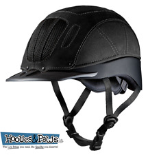 Troxel Sierra Black Vented Safety Horse Western Low Profile Riding Helmet XL