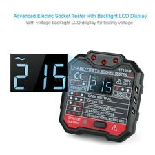 GFCI Socket Tester Automatic Neutral Live Earth Wire Test Breaker Finder Plug