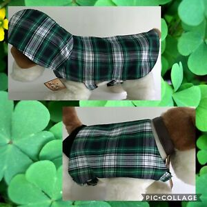 Furry Tales Denim Jacket/Dress Plaid Shirt Hooded Jacket for Dogs BOGO