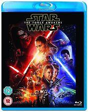 Star Wars Episode VII Part 7 The Force Awakens Blu Ray Original UK Release New