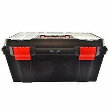 "22"" Maestro Toolbox with Handle / Holdall / Plastic Box / DIY Storage Box TE814"