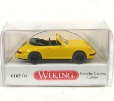 Porsche Carrera Cabrio (yellow) 1989