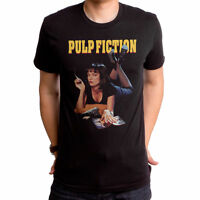 Authentic Licensed Pulp Fiction Movie Mia Poster Uma Thurman T-shirt S M L X 2X