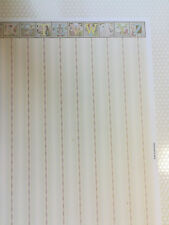 """Dollhouse Brodnax Wallpaper Nursery Baby's Room """"Mother Goose""""  1:12 Scale"""