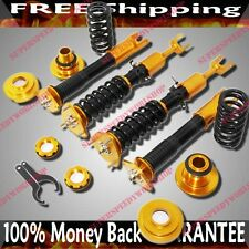 GOLD Complete Coilover Suspension FIT Nissan 350Z 2003-2008 2D ONLY