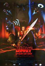 Heavy Metal F.A.K.K. 2 - original movie poster - 27x40