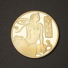 Cléopatre médaille Égypte antique
