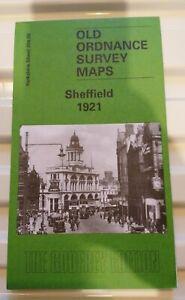 Old Ordnance Survey Maps Sheffield 1921