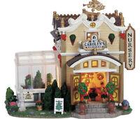 Lemax Caddington Village ~ Carolyn's Nursery Greenhouse RARE RETIRED