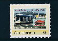 15.person.Marke des  BSV-Linzer Eisenbahn-Verein, Neue Pöstlingbergbahn, 1/5/15