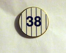 The New York Yankees #38 Rob Refsnyder Andrew Bailey Baseball Pin NY NYY NYC