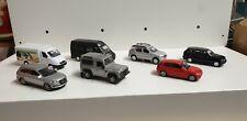 Modellautos 1:87 Konvolut, Sammlung, Schuco, Welly, BMW, Mercedes, H0