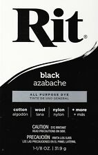 New Rit Fabric Dye - BLACK