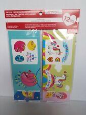 2 Creatology Valentine Tattoo Exchange Card Kits 24 Cards 24 Temp Tattoo Sheets