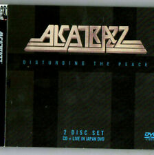 Alcatrazz - Disturbing The Peace ( CD/Dvd] Deluxe Edition, UK - Import 2 disc