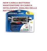 CARICA BATTERIA MANTENITORE AUTO-MOTO-BARCA AMPEROMATIC 1A RAPIDO LAMPA 70178