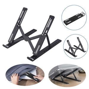 Foldable Laptop Stand Holder Portable Height Adjustable Desk Tablet Bracket