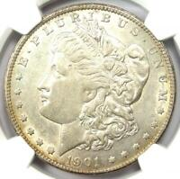 1901-S Morgan Silver Dollar $1 Coin - Certified NGC AU Detail - Near MS / UNC!