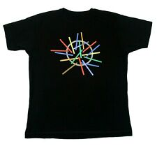 Depeche Mode 2009 Tour Of The Universe Continental Tee - Black - L