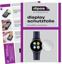 2x Uhr 22.5 mm Durchmesser Schutzfolie klar Displayschutzfolie Folie Display