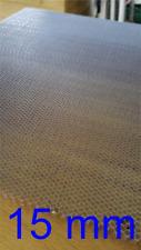 Aluminio wabenplatte 400x300mm 6,5mm panal/wabengitter/honeycomb co2 láser